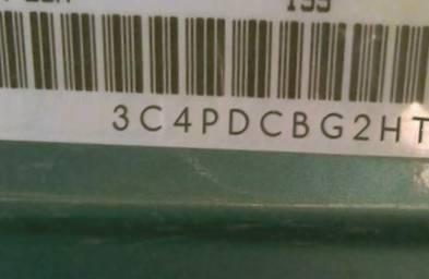 VIN prefix 3C4PDCBG2HT5