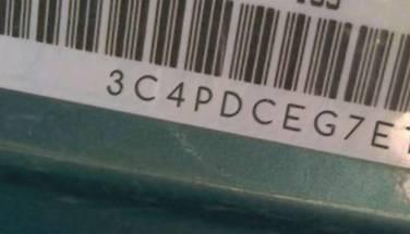 VIN prefix 3C4PDCEG7ET3