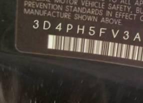 VIN prefix 3D4PH5FV3AT2